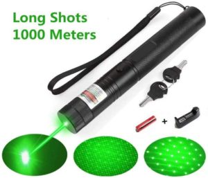 LUCHENG A Set of high Power Green Light Education Pointer 301 Flashlight Demonstration Projector Outdoor Camping Equipment Tactical Hunting Sight LED pet Toy…