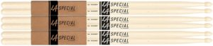 Promark LA Specials 5A Hickory Drumsticks with Nylon Tip (Pack of 3)