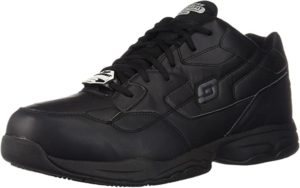 Sketchers for Work Men's Felton Slip Resistant Relaxed-Fit Work Shoe