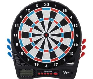 Viper Showdown Best Electronic Dart Board, Regulation Size For Tournament Play, Ultra Thin Spider Increases Scoring Area, Easy To Use Button Interface…