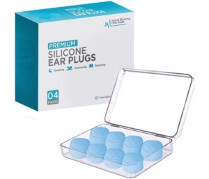 Ear Plugs for Sleeping, Reusable Silicone Moldable Noise Cancelling Sound Blocking Reduction Best Earplugs for Swimming, Snoring, Concerts, Shooting, Airplanes, Musicians, 32dB Highest NRR