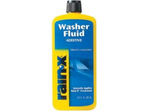 Rain-X White RX11806D Best Windshield Washer Fluid Additive-16.9 fl. oz, 500. ml