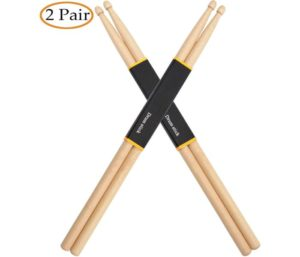 WOGOD 5A Maple Best Drumsticks (Two pair)