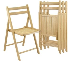 Winsome Robin 4-PC Best Folding Chairs Set – Parent