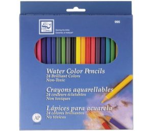 Loew Cornell 995A Best Watercolor Pencils, Pack of 24