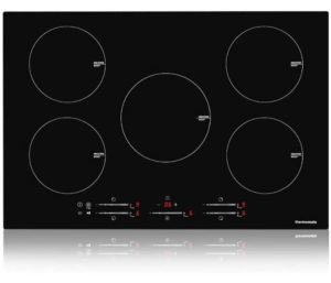 Best Electric Cooktops, 30-Inch Built-in Induction Stove Top, 240V Electric Smoothtop with 5 Boost Burner