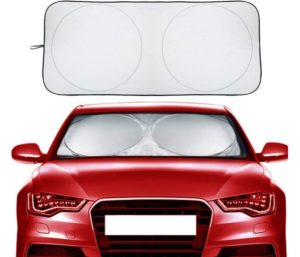 Car Windshield Sun Shade, Block UV Rays Sun Visor Protector Car Shade