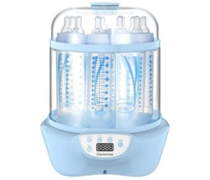 Elechomes Best Baby Bottle Sterilizer and Dryer, BPA Free 600W Electric Steam Sterilizer