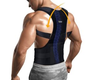 Posture Corrector for Upper Back Pain Relief Lumbar Support, Adjustable, Improve Scoliosis, Thoracic Posture