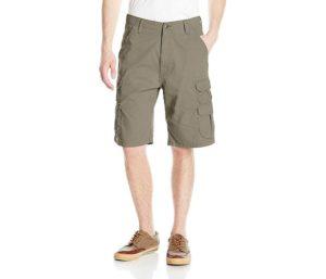 Wrangler Best Hiking Shorts For Men Premium Twill Cargo Short