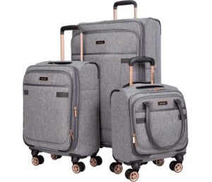 kensie Best Luggage Sets 3 Piece