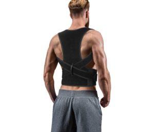 Back Brace Posture Corrector for Women Men, Back Lumbar Adjustable Support