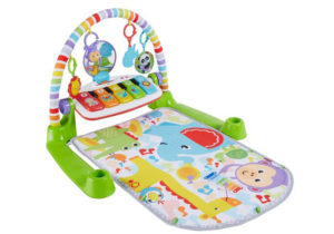 Fisher-Price Best Baby Play Mat Kick 'n Play Piano Gym, Green, Gender Neutral