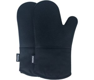 Honla Silicone Oven Mitts, Heat Resistant, Non Slip Gloves