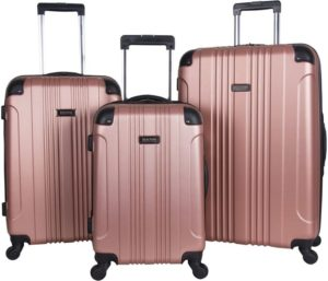 Kenneth Cole Reaction HardSide 4-Wheel Spinner Best Luggage Sets