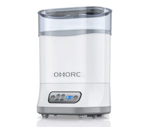 OMORC Best Baby Bottle Sterilizer and Dryer 550W, Baby Milk Warmer, Electric Steam Sterilizer