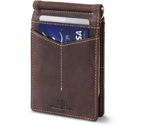SERMAN BRANDS RFID Blocking Genuine Leather Wallet