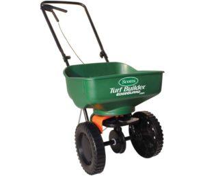 Scotts Turf Mini Broadcast Spreader Best Fertilizer Spreader