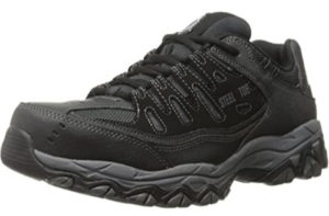 Skechers for Work, Athletic Steel Toe work sneaker