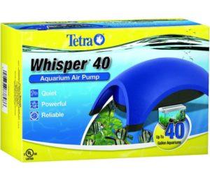 Tetra Whisper Best Aquarium Air Pump with Minimal Noise and Maximum Air Flow