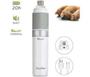 Casifor Best Dog Nail Grinder and Clippers, 20h Working Time, Suitable For Small, Medium, Big Dogs and Cats