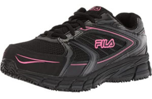 Fila Women's Memory Reckoning, Slip Resistant, Best Steel Toe Shoes Food Service