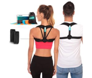 MARAKYM Best Posture Corrector for Men, Adjustable Clavicle, Carry Bag Included