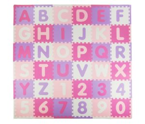 Tadpoles Soft EVA Foam ABC Play mat