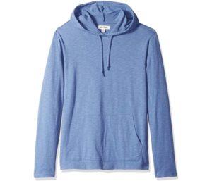 Amazon Brand - Best Hoodies For Men, Lightweight T-Shirt Hoodie