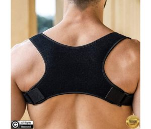 Best Posture Corrector for Men and Women, Wear Under Clothes Comfortable and Effective Clavicle Brace