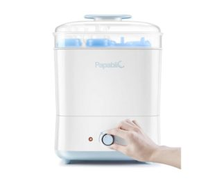 Papablic Best Baby Bottle Sterilizer, Electric Steam Sterilizer and Dryer