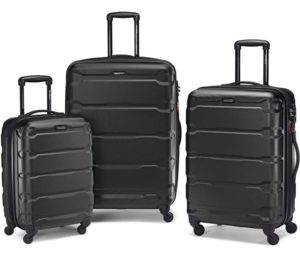 Samsonite Best Luggage Sets with Spinner Wheels