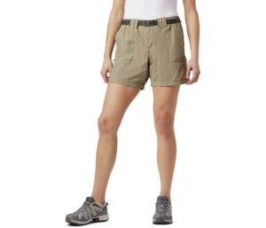 Columbia Best Hiking Shorts For Women, Breathable Cargo Short with UPF 30 Sun Protection