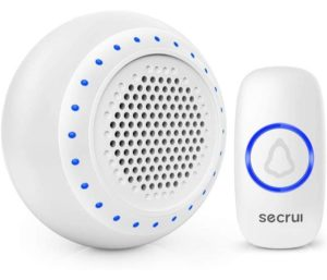 Best Wireless Doorbell Waterproof Chime Operating at Over 1000 Feet with 5 Volume Levels 32 Melodies