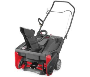 CRAFTSMAN Electric Start Single Stage Gas Powered Best Electric Snow Blower