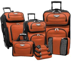 Travel Select Amsterdam Rolling Upright Luggage