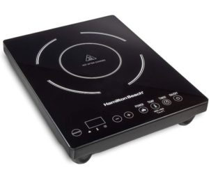 Hamilton Beach 34104 Single Induction 1800 watt, One Of The Best Electric Cooktops