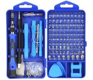 Lifegoo Precision Screwdriver Set, Upgrade 121 in 1 Magnetic Eyeglass Repair Tool Kit