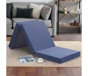 Olee Sleep Tri-Folding Memory Foam Mattress Topper