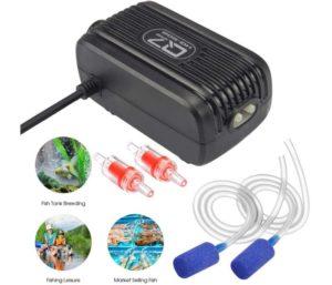 Rifny Best Aquarium Air Pump, Dual Outlet Air Valve