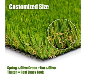 SMARTLAWN PROFESSIONAL Realistic Best Artificial Grass Rug, 20X24 Carpets for Indoor and Outdoor Use, 1.25 Pile Height Soft