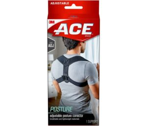 ACE Posture Corrector, Adjustable, Fits Men and Women