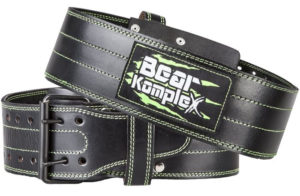 Bear KompleX Genuine Leather Adjustable Best Weightlifting Belt, Protection and Support for Back and Core