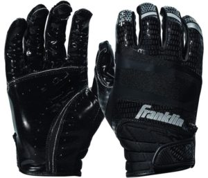 Franklin Sports Football Receiver Gloves Extra-Grip Premium Football Gloves