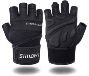SIMARI Workout Gloves for Training, Wrist Support for Fitness Exercise Weight Lifting…