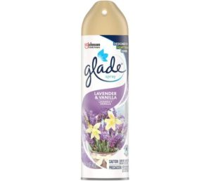 Glade Air Freshener, Room Spray, Lavender & Vanilla