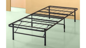 Zinus Shawn Metal Smart Base Bed Frame No Box Spring