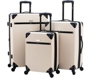 kensie 3 Piece Carroll Luggage Set