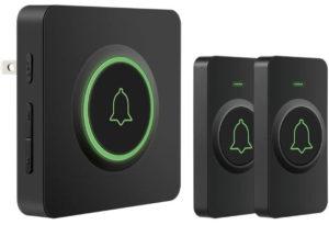 AVANTEK Best Wireless Doorbell Operating at Over 1300 Feet 52 Melodies