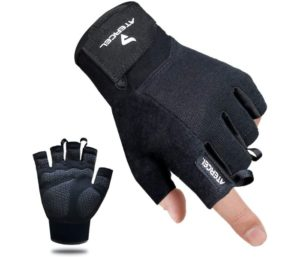 Atercel Workout Gloves, Best Exercise Gloves for Weight Lifting, Cycling, Gym, Training, Breathable, Snug fit